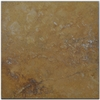 Big Pacific 18-in x 18-in Golden Sienna Travertine Floor Tile