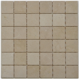 Big Pacific 12-in x 12-in Crema Marfil Marble Floor Tile