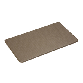 Imprint 26-in W x 48-in L Mocha Anti-Fatigue Mat