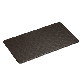 Imprint 26-in W x 72-in L Espresso Anti-Fatigue Mat