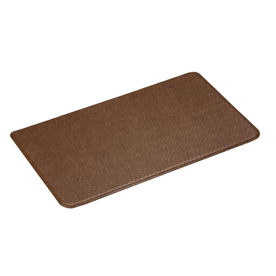 Imprint Toffee Brown Anti-Fatigue Mat (Common: 2-ft x 4-ft; Actual: 26-in x 48-in)