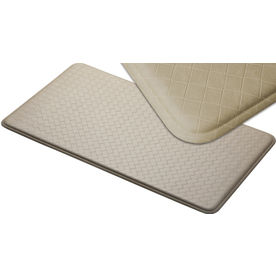 Imprint 26-in W x 48-in L Creme Anti-Fatigue Mat
