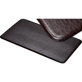 Imprint Cajun Toffee Anti-Fatigue Mat (Common: 2-ft x 4-ft; Actual: 26-in x 48-in)