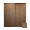 Chicology Brown Light Filtering Cordless Paper Panel Shade (Works with Iris) (Common 80-in; Actual: 80-in x 96-in)