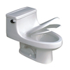 tecsun Tecsun White 1.6 GPF Elongated 1-Piece Toilet