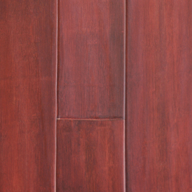 tecsun 5.62-in W Prefinished Bamboo Hardwood Flooring (Merlot)