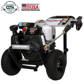 SIMPSON 3100-PSI 2.5-GPM Water Gas Pressure Washer