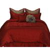 Stratford Park Granville 8-Piece Red King Comforter Set
