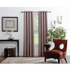 allen + roth Merriby Light Filtering Thermal Grommet Window Curtain Panel