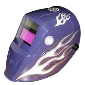 Kobalt Auto Darkening Blue Welding Helmet