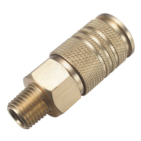 Kobalt 1/4-in Brass Universal Coupler (M)