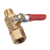 Kobalt 1/4-in Mini Ball Valve