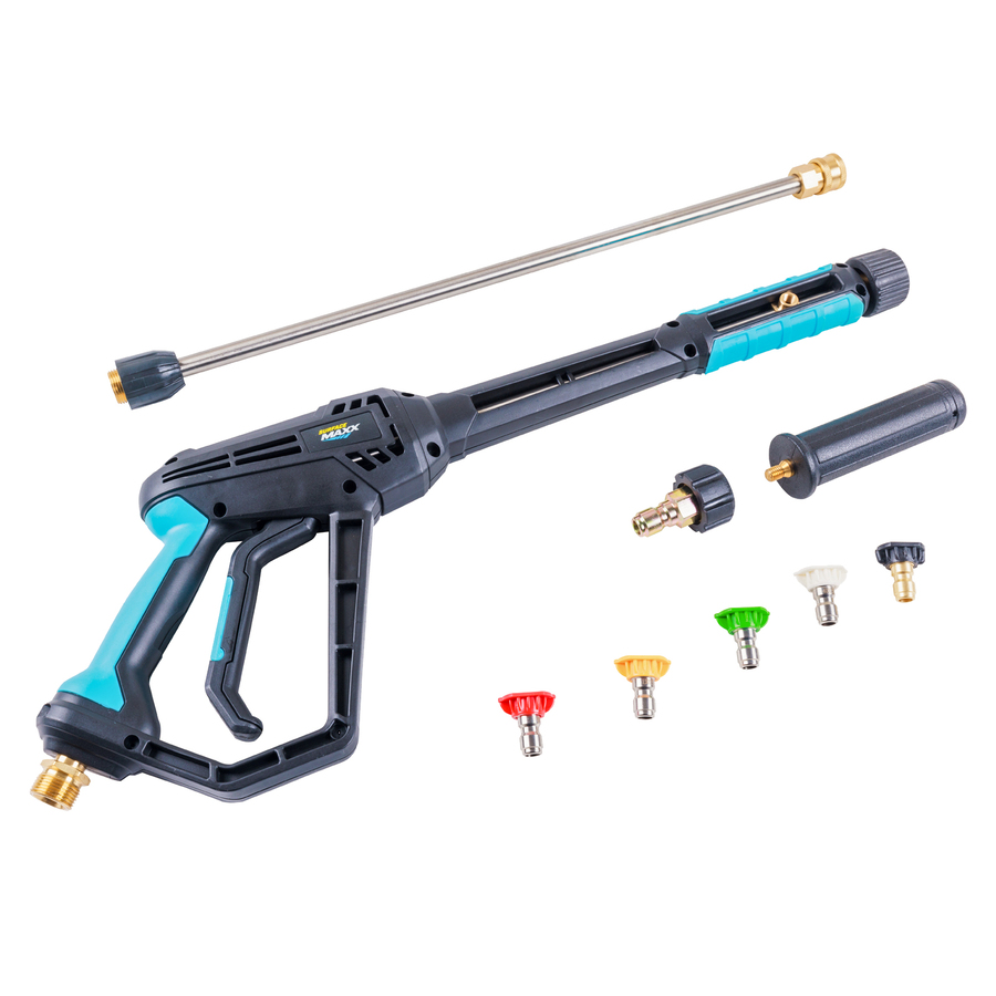 next zoom out zoom in blue hawk 4000 psi pressure washer gun kit