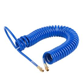 Kobalt Polyurethane 25-ft Blue Recoil Air Hose