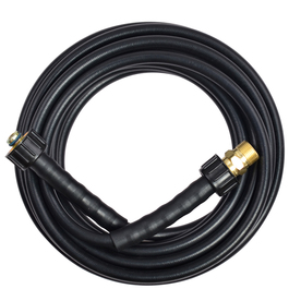 Blue Hawk 1/4-in x 25-ft Rubber Pressure Washer Hose