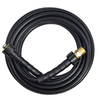 Blue Hawk 25-ft Rubber Pressure Washer Hose