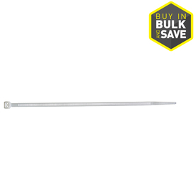 Utilitech 500-Pack 8-in Nylon Cable Ties