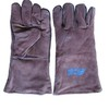 Blue Hawk Brown Welding Gloves