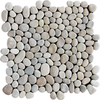 Marble Systems 10-Pack 12-in x 12-in Tan Pebbles Natural Stone Wall Tile