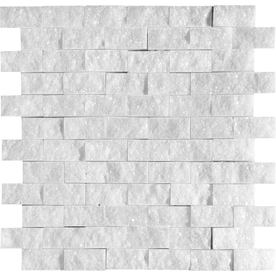Marble Systems 5-Pack NBS Avalon Natural Stone Mosaic  Wall Tile (Common: 12-in x 12-in; Actual: 12-in x 12-in)