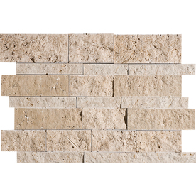 Marble Systems 3-Pack NBS Canyon Natural Stone Mosaic  Wall Tile (Common: 12-in x 12-in; Actual: 12-in x 12-in)