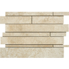 Marble Systems 5-Pack 12-in x 12-in Beige Travertine Natural Stone Wall Tile