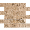 Marble Systems 3-Pack 12-in x 12-in Brown Travertine Natural Stone Wall Tile