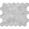 Marble Systems 6-Pack 12-in x 12-in White Natural Stone Wall Tile