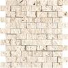 Bermar Natural Stone 11.75-in x 12-in Rock Face Natural Travertine Floor Tile