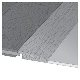 LM Flooring 2-in x 78-in Colonial Reducer Moulding