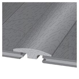 LM Flooring 2-in x 78-in Cider T-Moulding
