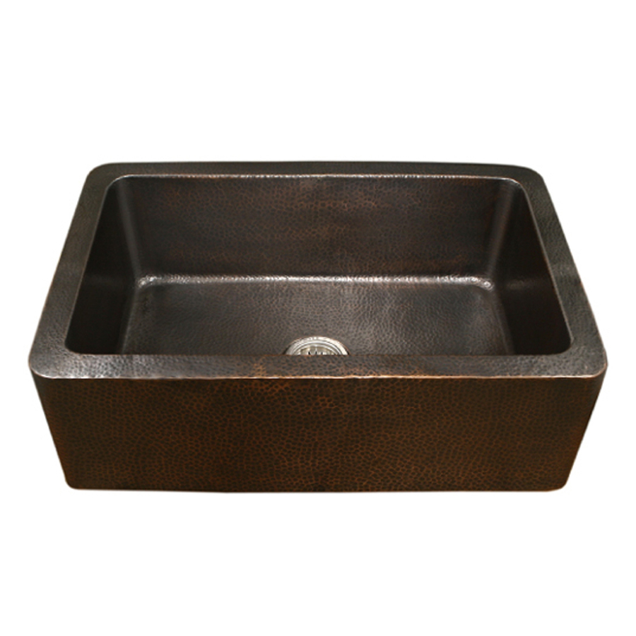 Copper Farmhouse Sink Clearance : ... Single-Basin Apron Front/Farmhouse Copper Kitchen Sink at Lowes.com