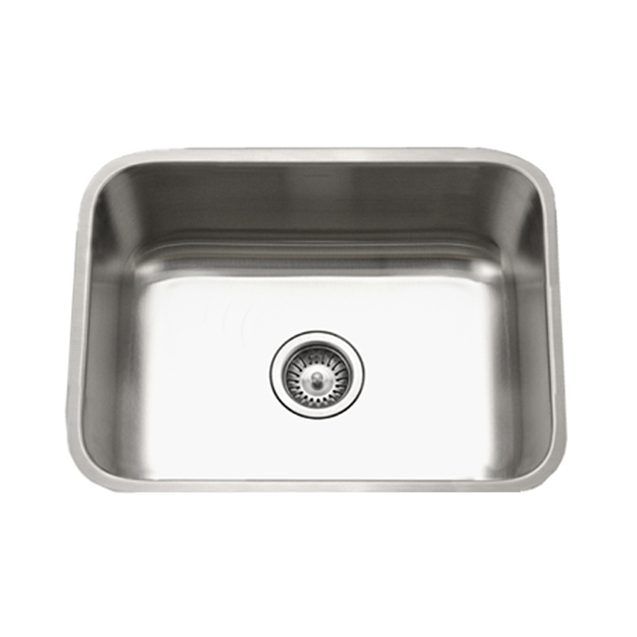Undermount stainless steel kitchen sinks lowes for Undermount kitchen sinks lowes