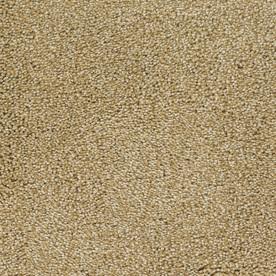 STAINMASTER TruSoft Shafer Valley Cream/Beige/Almond Textured Indoor Carpet