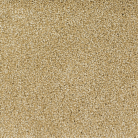 STAINMASTER TruSoft Gallery Yellow Textured Indoor Carpet
