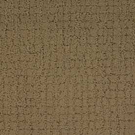 STAINMASTER TruSoft Perpetual Brown/Tan Cut and Loop Indoor Carpet