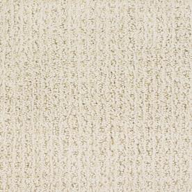 STAINMASTER TruSoft Salena Cream/Beige/Almond Cut and loop Indoor Carpet