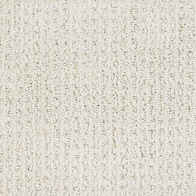 STAINMASTER TruSoft Gallery Cream Cut and Loop Indoor Carpet