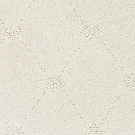 STAINMASTER TruSoft Columbia Valley Cream/Beige/Almond Cut and Loop Indoor Carpet