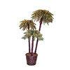 6-ft Indoor/Outdoor Palm Pre-Lit Artificial Christmas Tree with 405 Clear Lights