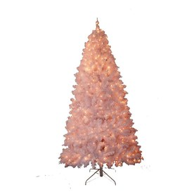 Holiday Living 7' White Pine Artificial Christmas Tree with Clear Lights
