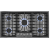 Whirlpool Gold 36-in 5-Burner Gas Cooktop (Stainless Steel)