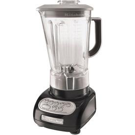 KitchenAid 56-oz Onyx Black 5-Speed 600-Watt Pulse Control Blender