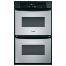 Whirlpool Double Electric Wall Oven (Stainless Steel) (Common: 24-in; Actual: 23.75-in)