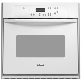 Whirlpool Self-Cleaning Single Electric Wall Oven (White) (Common: 24-in; Actual 23.75-in)