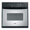 Whirlpool 24-in Self-Cleaning Single Electric Wall Oven (Stainless Steel)