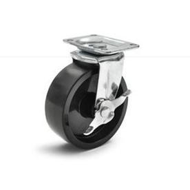 Gladiator 4-Pack 5-in x 1-3/4-in Plastic Swivel Casters
