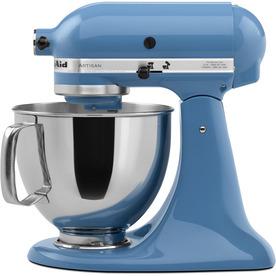 KitchenAid Artisan 5-Quart 10-Speed Cornflower Blue Stand Mixer