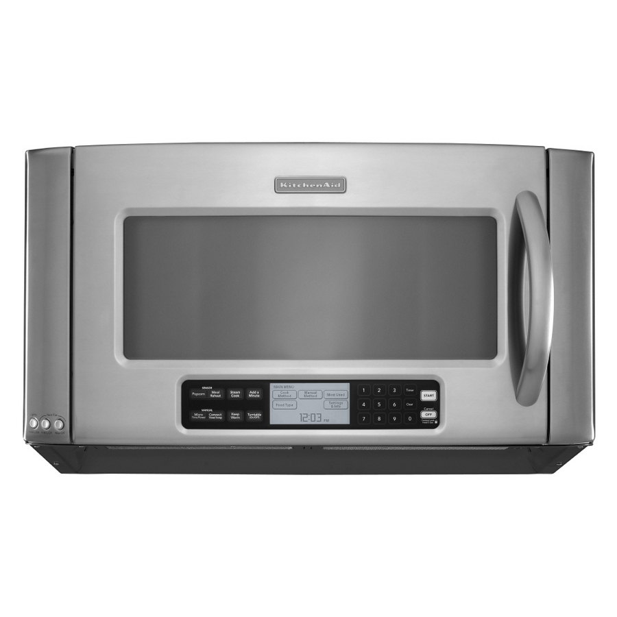 Shop kitchenaid architect ii 2 cu ft over the range for Kitchenaid microwave