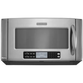 KitchenAid Architect II 2-cu ft Over-The-Range Convection Oven Microwave with Sensor Cooking Controls (Stainless Steel) (Common: 30-in; Actual: 29.87-in)